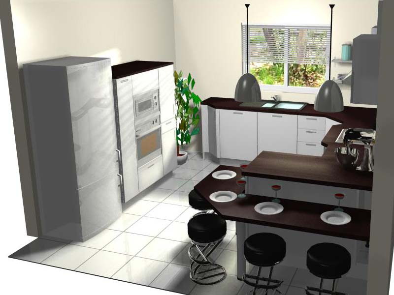 exemple deco cuisine comme un laboratoire document sans titre - Exemple Dimplantation Cuisine